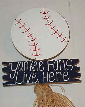 handcrafted wood baseball plaque the baseball is handpainted and the